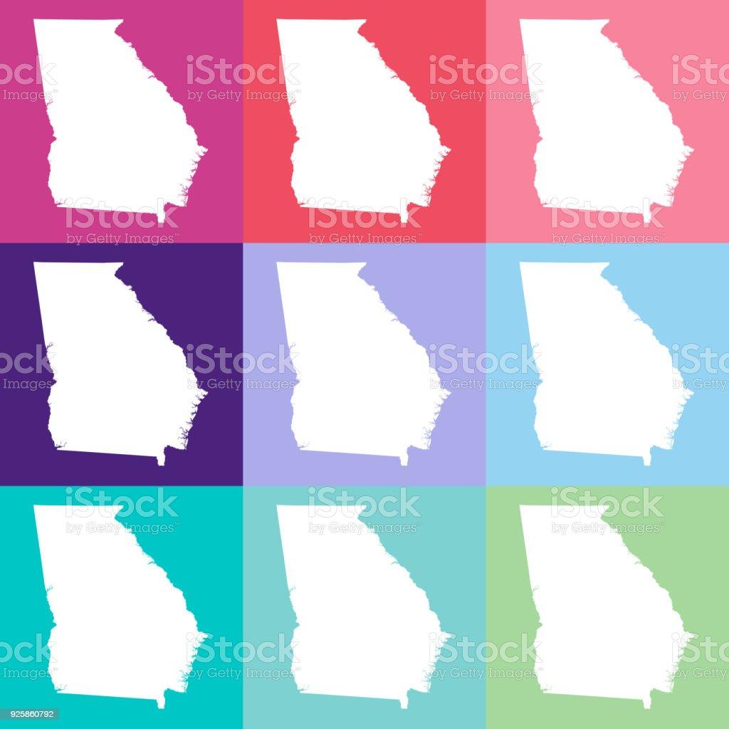 Wunderbar Karte Von Usa Malvorlagen Fotos - Beispiel Business ...