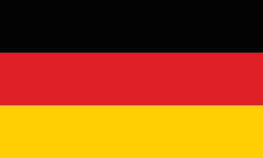 Vector German Flag In Original Ratio And Colors Stock ...