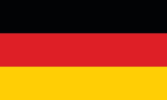 Vector German Flag In Original Ratio And Colors Stock ...