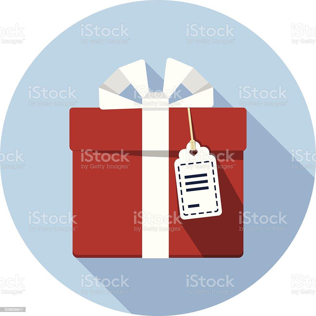 Vector Gift Box vector art illustration