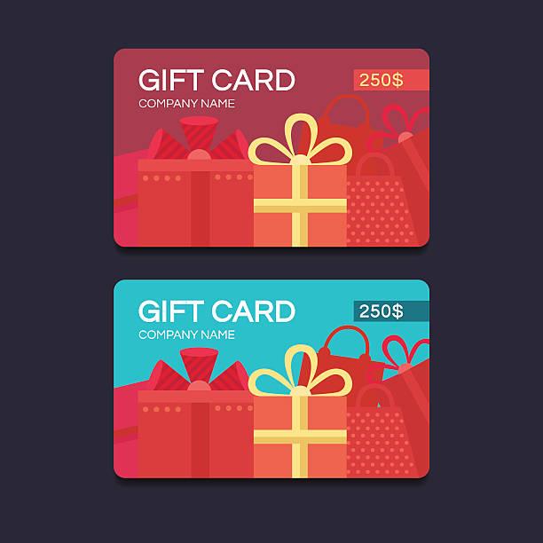 illustrazioni stock, clip art, cartoni animati e icone di tendenza di vettoriali buoni regalo - coupon