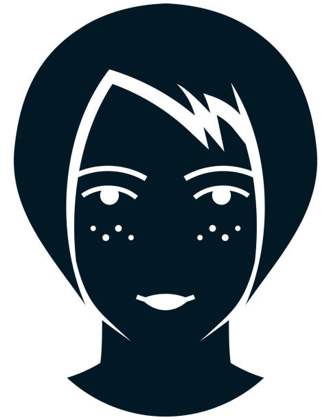 face cartoon Freckle