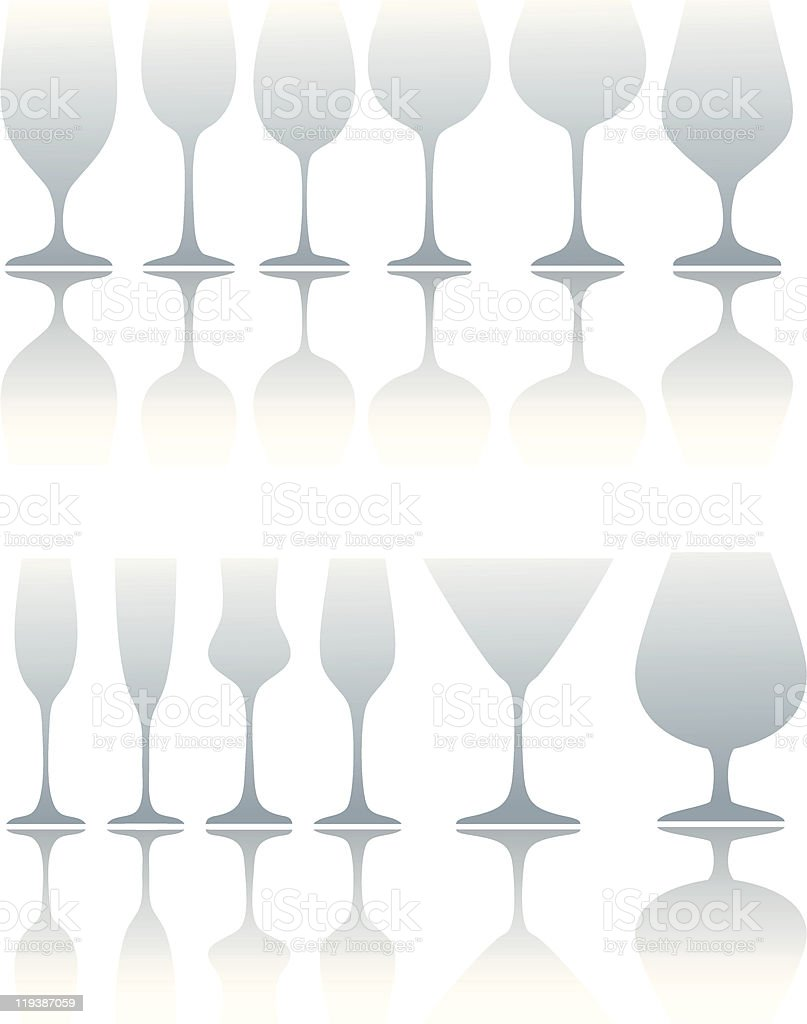 vector glasses royalty-free stock vector art