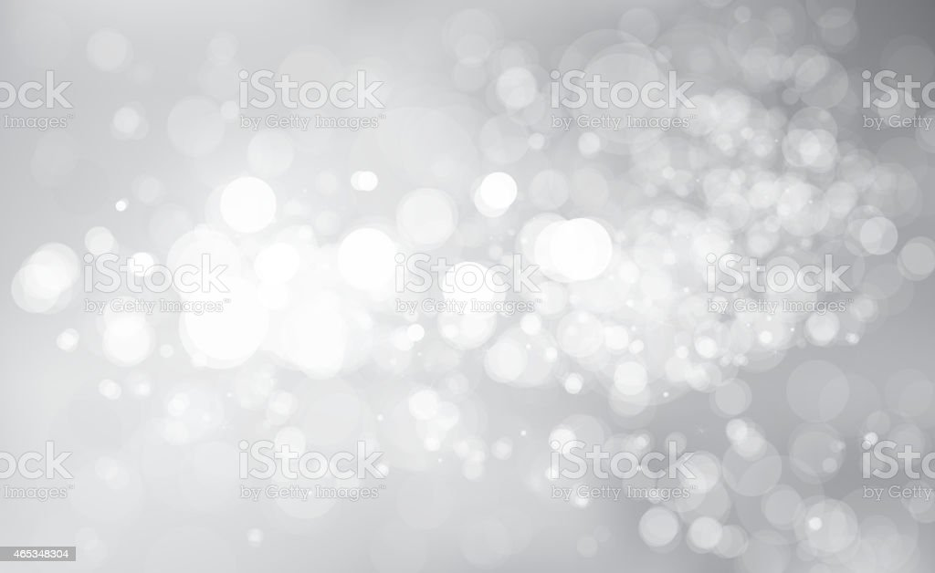 Vector glitter silver background. vector art illustration
