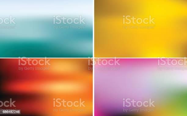 Vector Glitter Sweet Color - Arte vetorial de stock e mais imagens de Abstrato