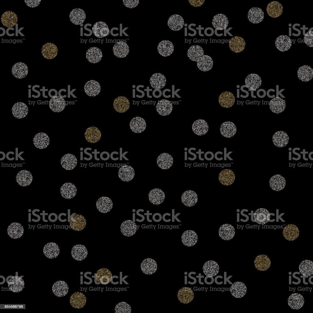 Vector gold and silver glitter particles background effect for the vector gold and silver glitter particles background effect for the luxury christmas greeting card or invitation stopboris Images