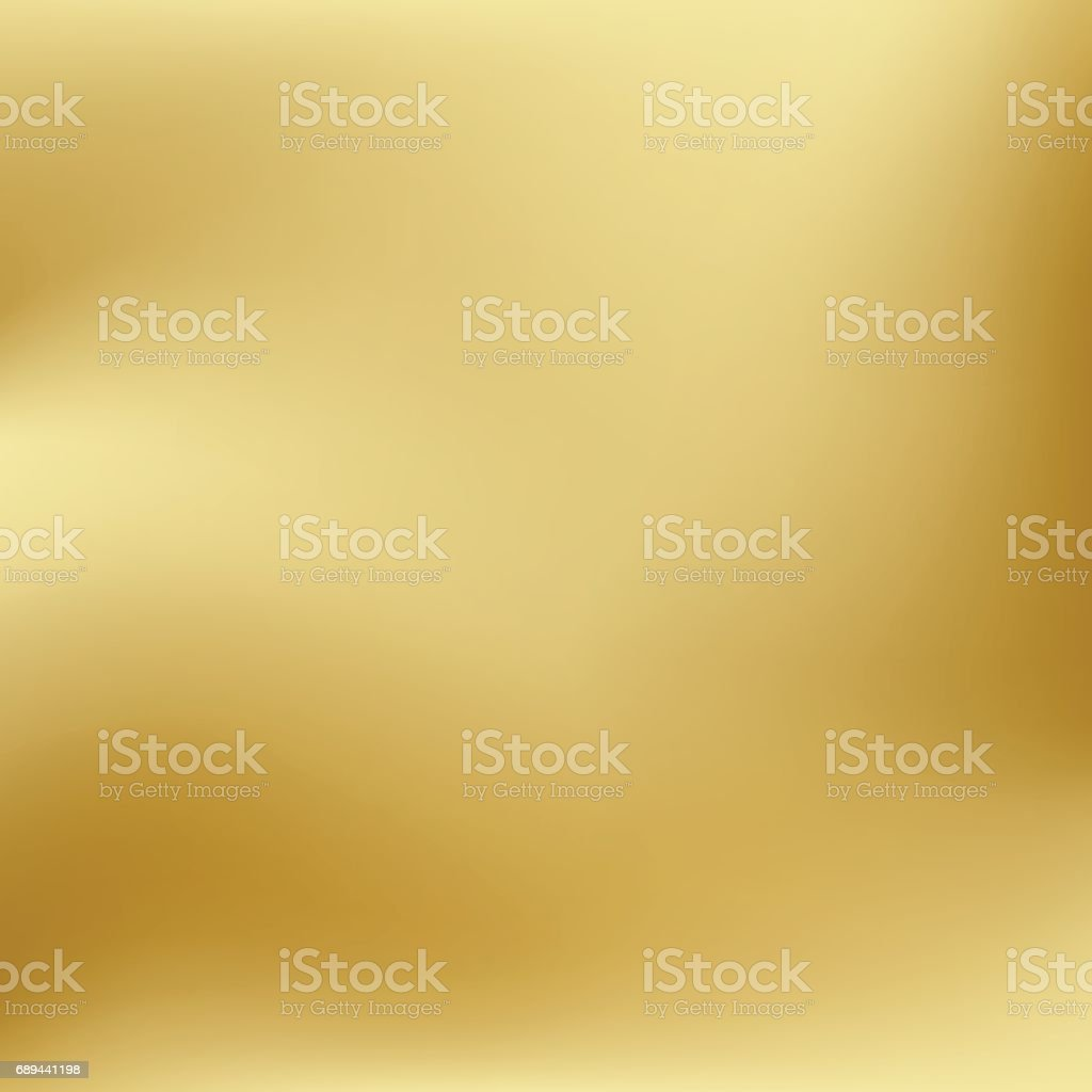 Vector gold blurred gradient style background. Abstract smooth colorful illustration, social media wallpaper. vector art illustration