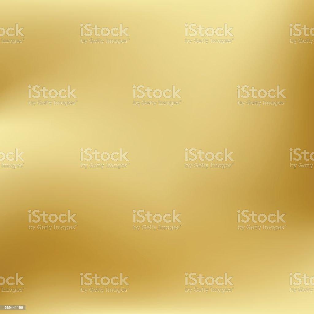 Vektor-Gold verwischt Verlaufsart Hintergrund. Abstrakte glatte bunte Illustration, social-Media-Tapete. – Vektorgrafik