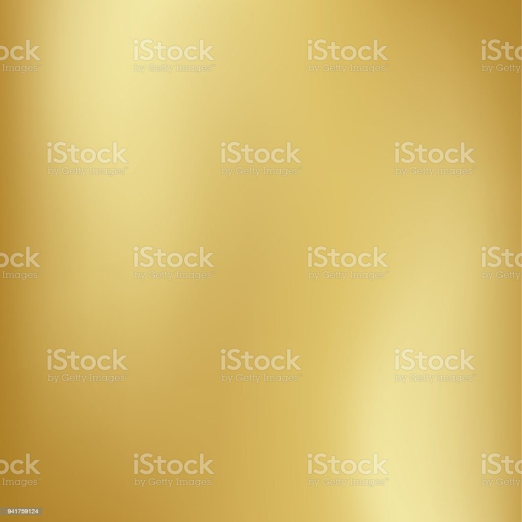 Vector gold blurred gradient style background. Abstract smooth colorful illustration, social media wallpaper - arte vettoriale royalty-free di Allegro