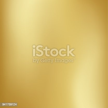 istock Vector gold blurred gradient style background. Abstract smooth colorful illustration, social media wallpaper 941759124