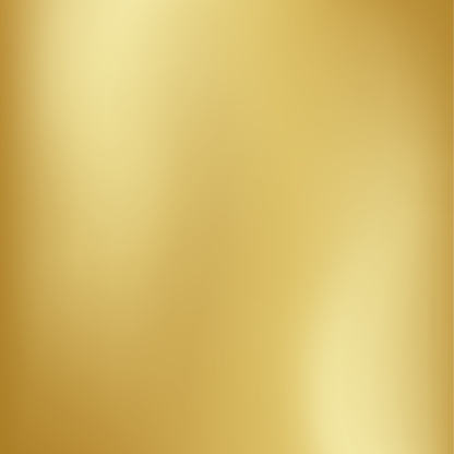 Vector Gold Blurred Gradient Style Background Abstract Smooth Colorful Illustration Social Media Wallpaper Stock Illustration - Download Image Now