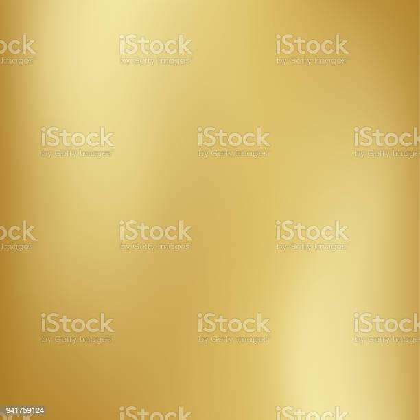 Vector Gold Blurred Gradient Style Background Abstract Smooth Colorful Illustration Social Media Wallpaper - Immagini vettoriali stock e altre immagini di Allegro