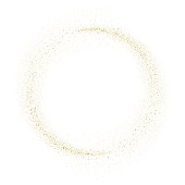 Vector gold glitter wave abstract background
