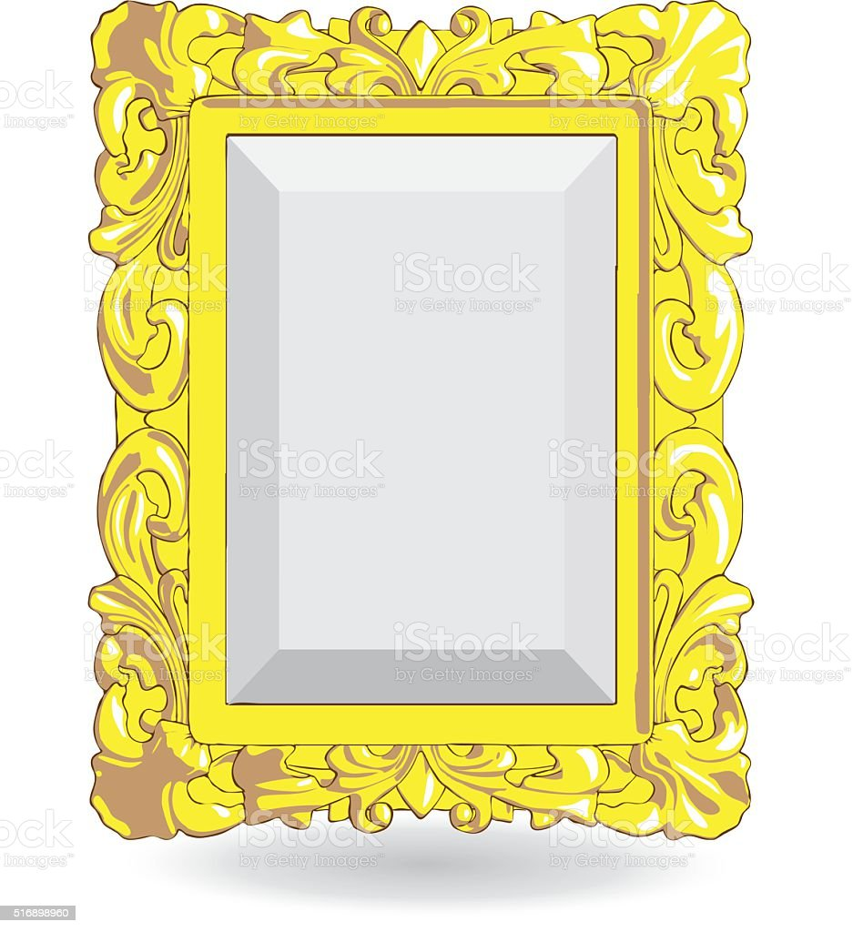 Vector gold vintage frame isolated on white background stock vector gold vintage frame isolated on white background royalty free vector gold vintage frame isolated jeuxipadfo Gallery