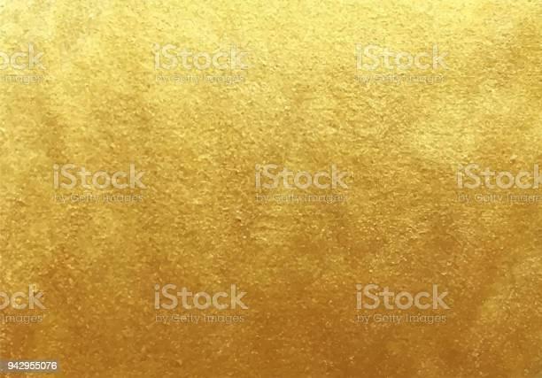 Vector Golden Foil Background - Immagini vettoriali stock e altre immagini di Arte