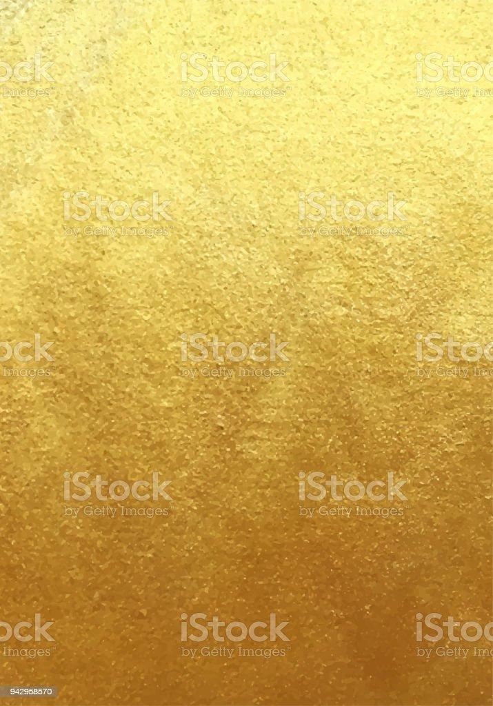 Vector golden foil background