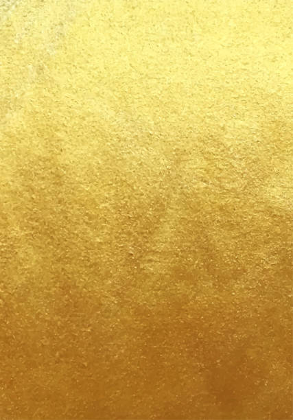 Vector golden foil background vector art illustration