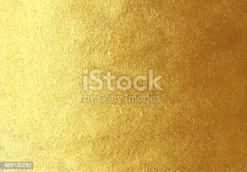 istock Vector golden foil background 959130282