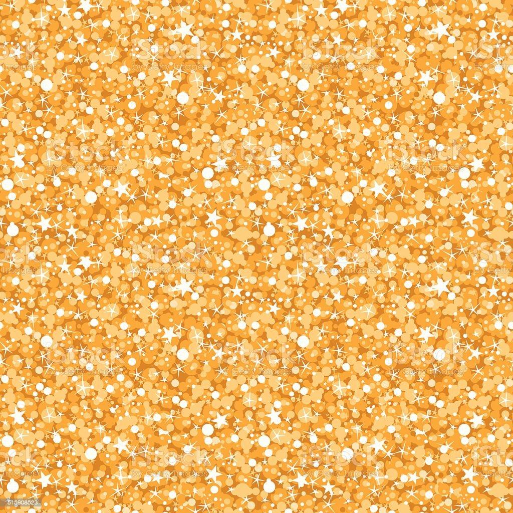 vector golden shiny glitter texture seamless pattern background vector art illustration