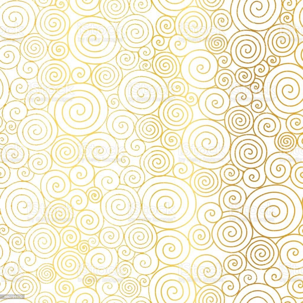 Vector Golden White Ab...