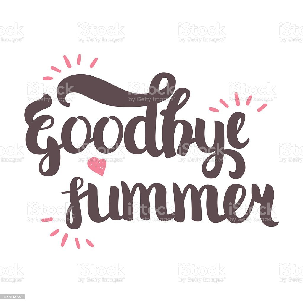End of Summer Clip Art