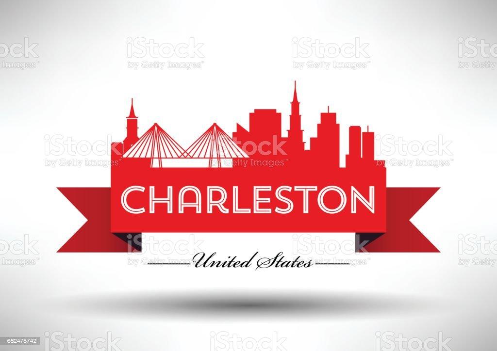 Vector Graphic Design of Charleston City Skyline vector graphic design of charleston city skyline — стоковая векторная графика и другие изображения на тему Архитектура Стоковая фотография