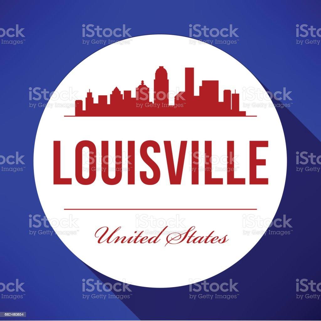 Vector Graphic Design of Louisville City Skyline royalty-free vector graphic design of louisville city skyline stock vector art & more images of architecture