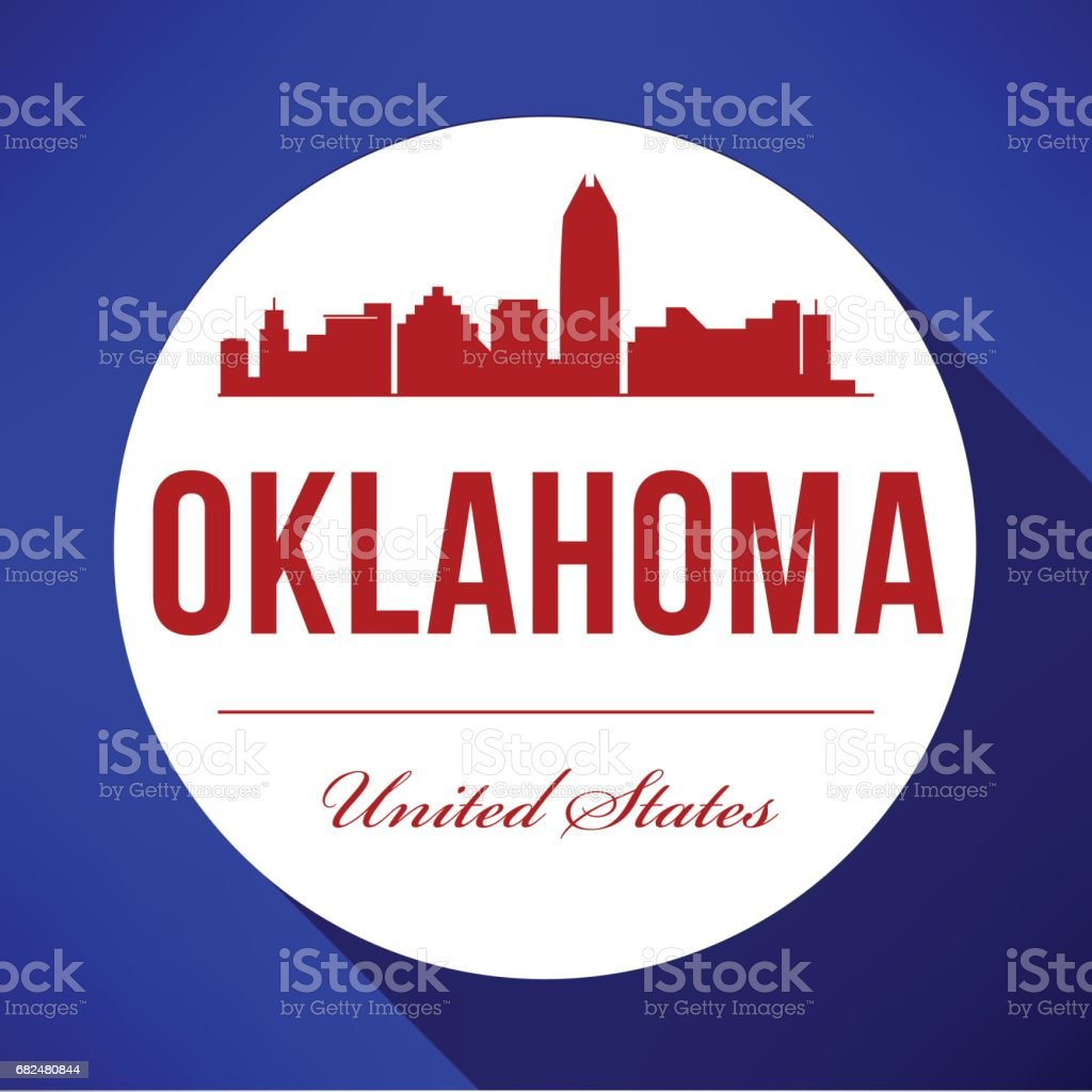 Vector Graphic Design of Oklahoma City Skyline royalty-free vector graphic design of oklahoma city skyline stock vector art & more images of architecture