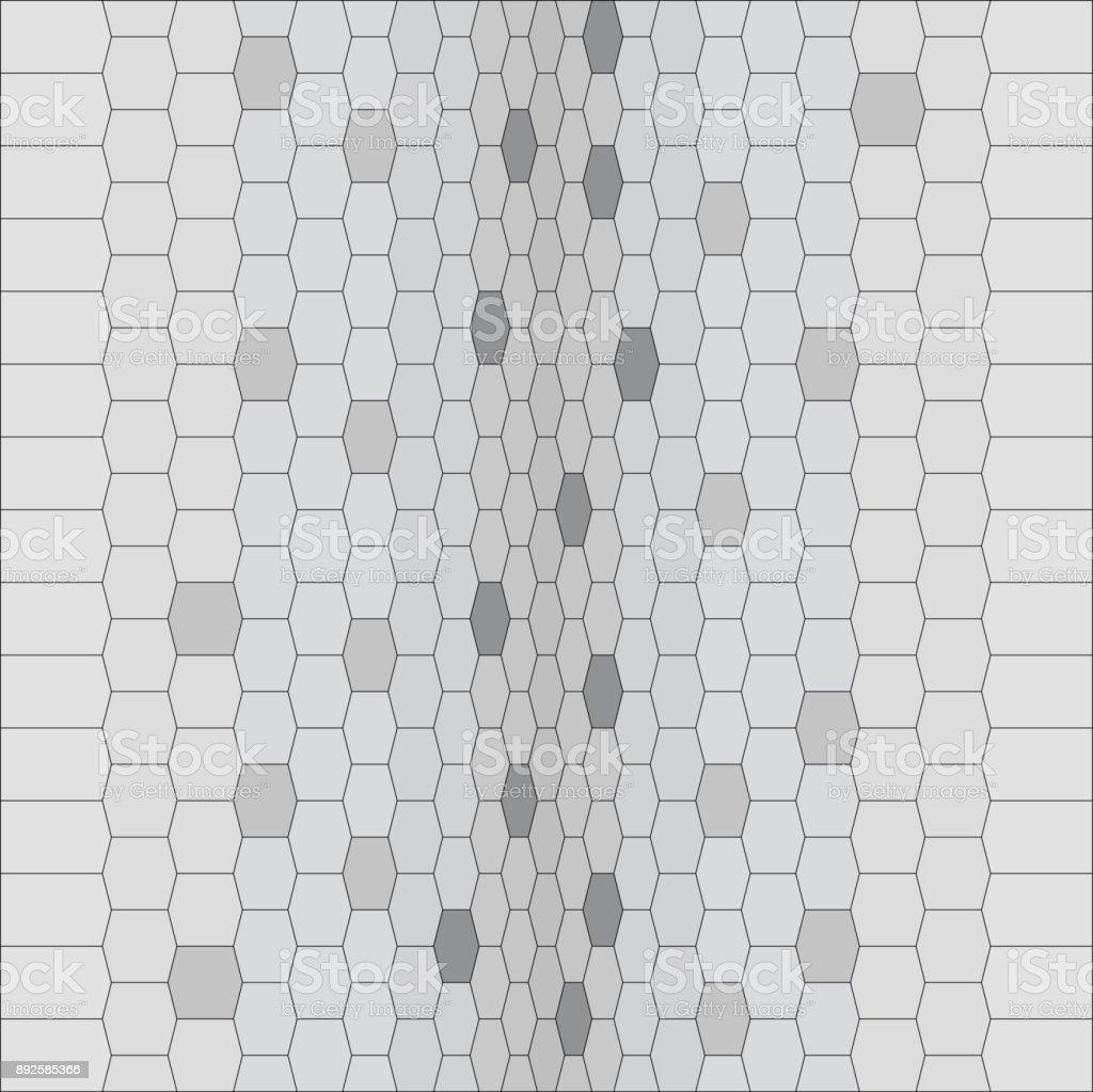 vector graphic texture of snake skin vector art illustration