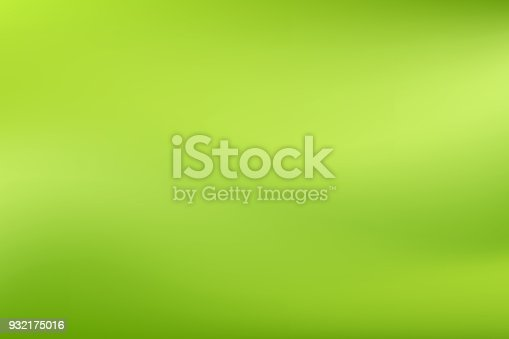Vector green blurred gradient style background. Abstract smooth colorful illustration, social media wallpaper