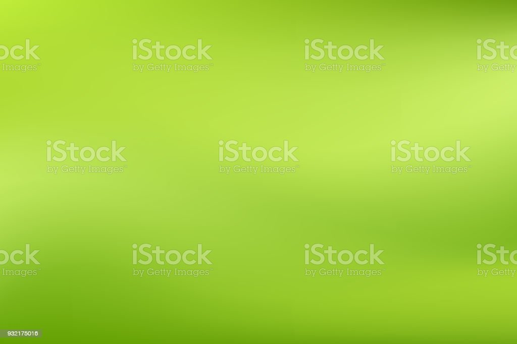 Verde de vetor turva estilo gradiente de fundo. Abstrata suave ilustração colorida, papel de parede de mídias sociais - ilustração de arte em vetor