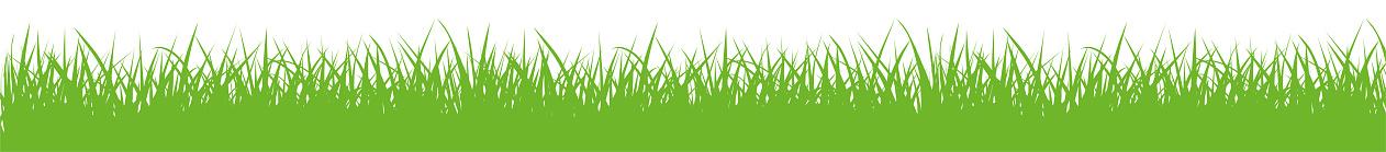 Vector green gras silhouette - stock vector.