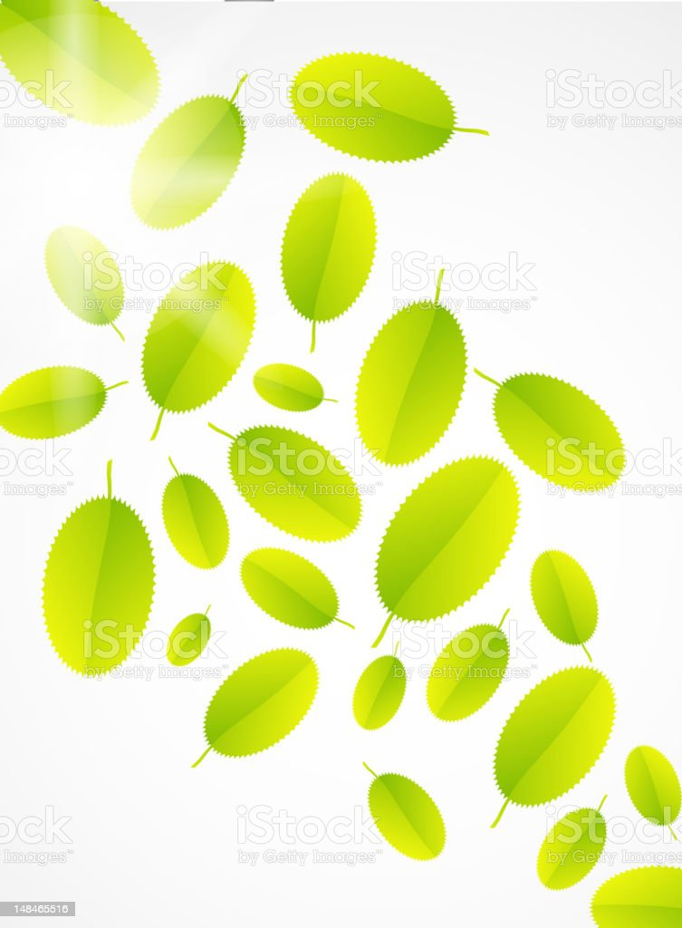 Vector green nature background royalty-free vector green nature background stock vector art & more images of abstract