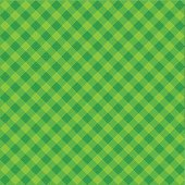 Vector Green Plaid Fabric background textured