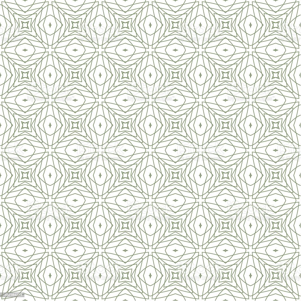 Vector Green Seamless Guilloche Background royalty-free vector green seamless guilloche background stock vector art & more images of abstract