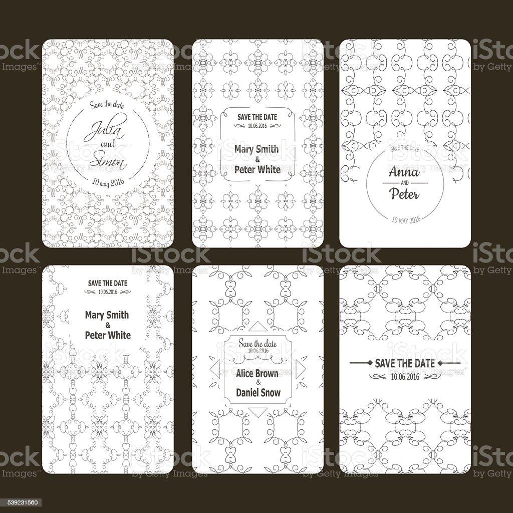 Vector de tarjetas de felicitación ilustración de vector de tarjetas de felicitación y más banco de imágenes de abstracto libre de derechos