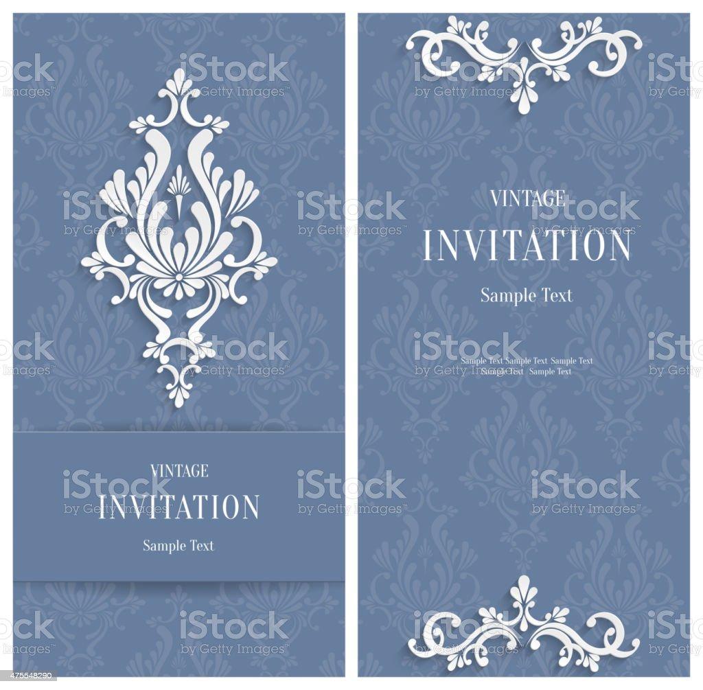 Grey floral 3d hintergrund hochzeit einladung karten vorlage oder lizenzfreies grey floral 3d hintergrund