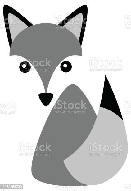 Vector grey fox husky dog cat illustration logo vector id1162166730?b=1&k=6&m=1162166730&s=612x612&h=lfht7m3xstdzqgc5ssuxj bfp685 349ci9awikjey0=