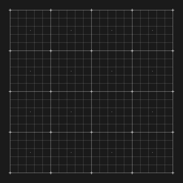 vektor-grid kennzeichnung für benutzer hud-schnittstelle - gitter stock-grafiken, -clipart, -cartoons und -symbole