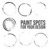 Vector grunge circles Set for Your Design