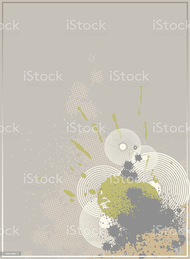 Vector Grunge Explosion vector art illustration