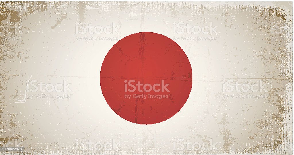 vector grunge flag of japan royalty-free vector grunge flag of japan stock vector art & more images of abstract