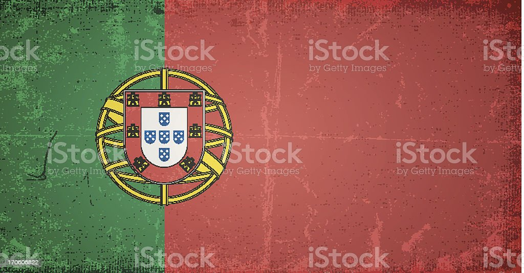 vector grunge flag of portugal royalty-free vector grunge flag of portugal stock vector art & more images of abstract
