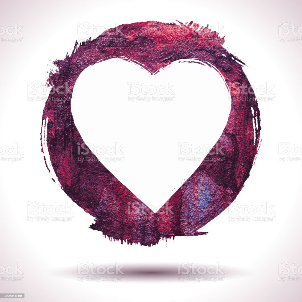 Vector grunge heart background royalty-free vector grunge heart background stock vector art & more images of abstract