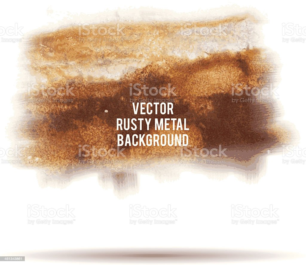 vector grunge rusty metal background vector art illustration