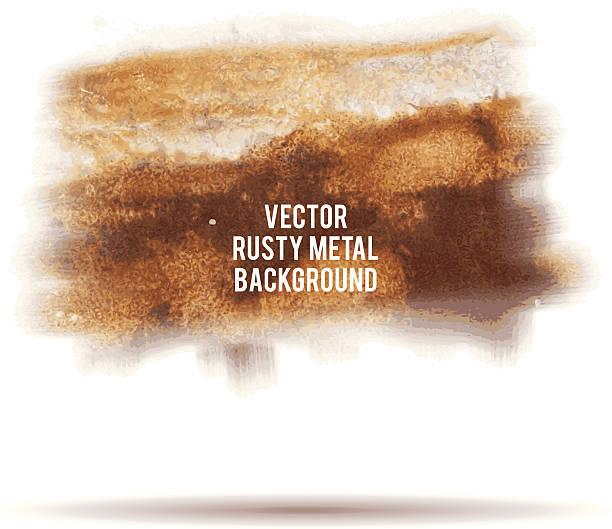stockillustraties, clipart, cartoons en iconen met vector grunge rusty metal background - roestig