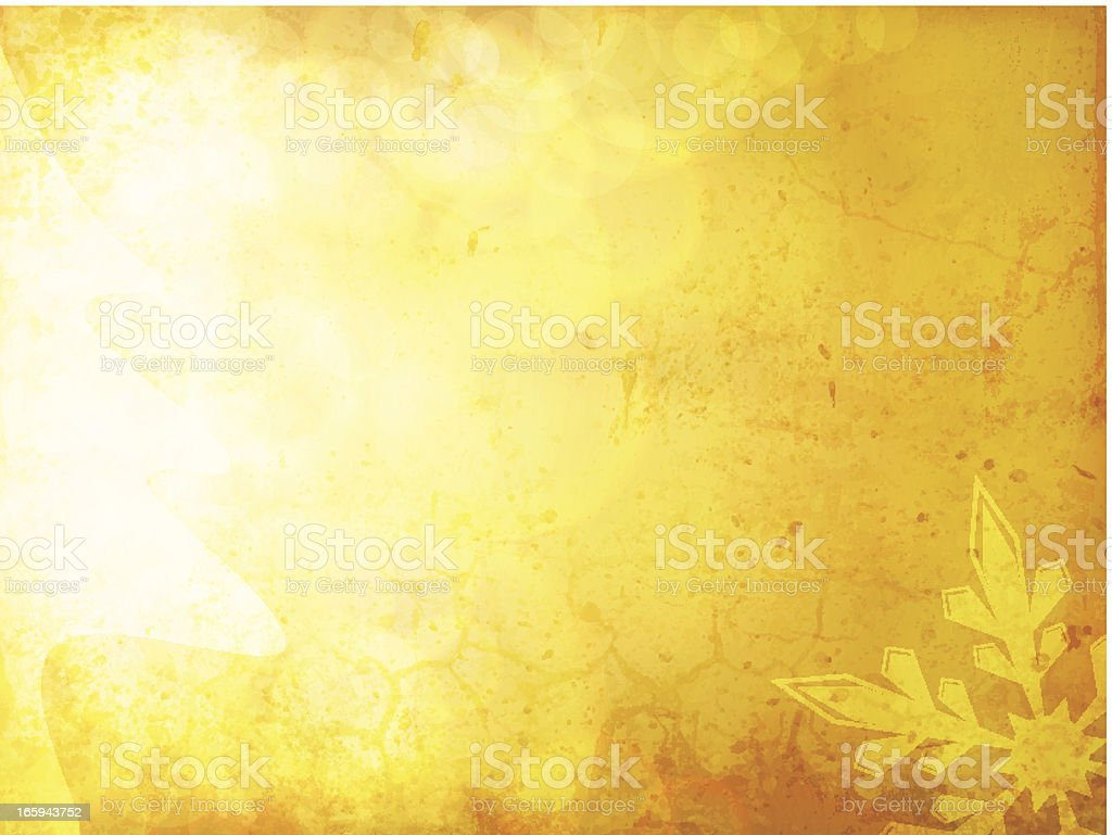 Vector Grungy Glowing Christmas Background royalty-free stock vector art