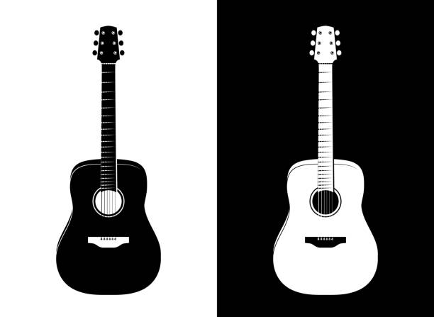 Royalty Free Metal Guitar Clip Art, Vector Images ...