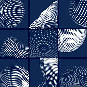 Vector Halftone Dots Pattern