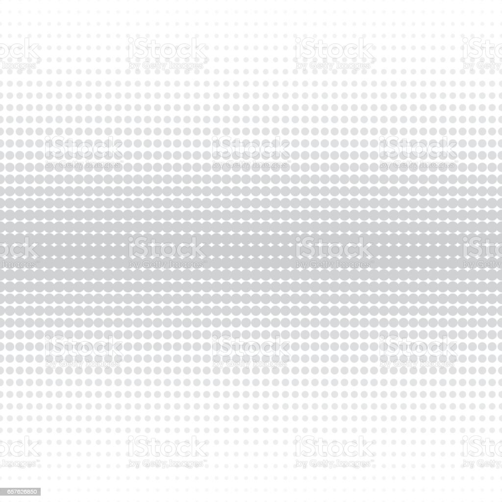 Vector halftone dotted background - seamless. vector art illustration